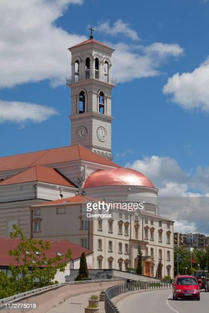 プリシュティナの聖母テレサ大聖堂 - プリシュティナ ストックフォトと画像