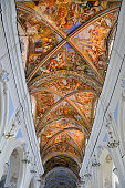 cathedral of San Bartolomeo Lipari Eolie Italy