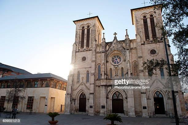 Cathedral of San Fernando in San Antonio, Texas, USA