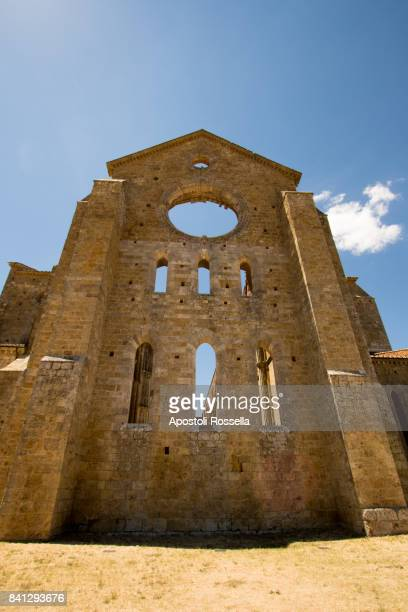 Cathedral of San Galgano in Tuscany