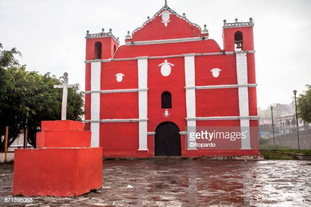 Cathedral of San Juan Cancuc in Chiapas