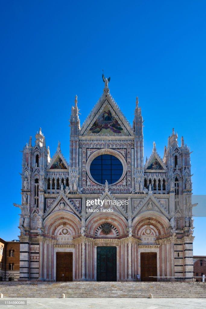 Cathedral of Santa Maria Assunta, Siena, Tuscany : Foto stock