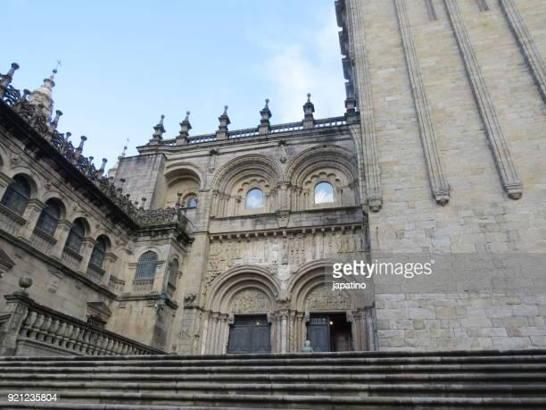 cathedral of santiago de compostela - santiago de compostela fotografías e imágenes de stock