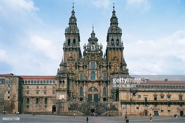 Cathedral of Santiago de Compostela Santiago de Compostela Galicia Spain 12th18th century