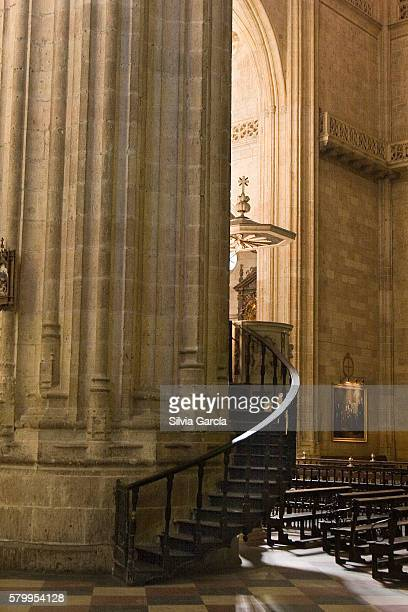 cathedral of segovia, castile and leon. - espiritualidad stock pictures, royalty-free photos & images