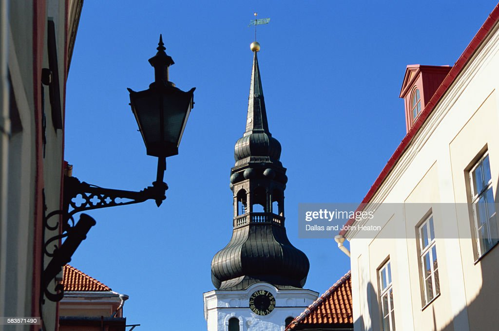 Cathedral of St. Mary, Old Town, Tallinn, Estonia : Stock Photo