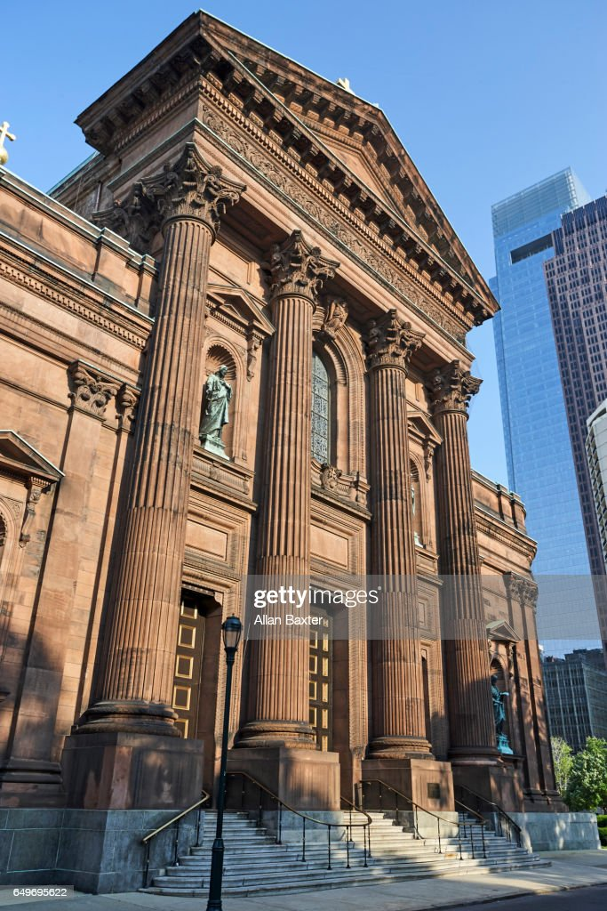 Cathedral of St Peter and St Paul in Philadelphia : Stock Photo