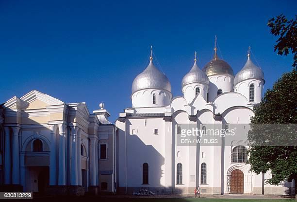 Cathedral of St Sophia Novgorod Kremlin Russia 11th century