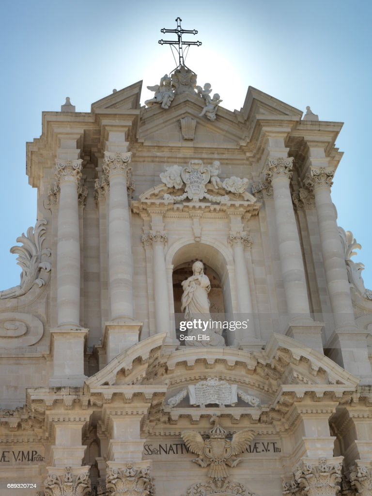 Cathedral of Syracuse : Stock Photo