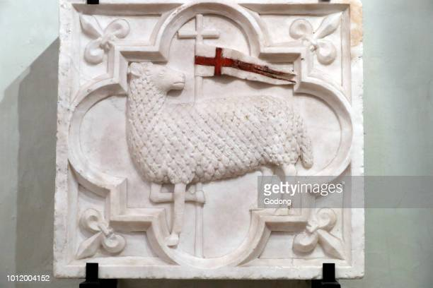 Cathedral of the Assumption of Mary and Saint John the Baptist Lamb of God Aosta Italy