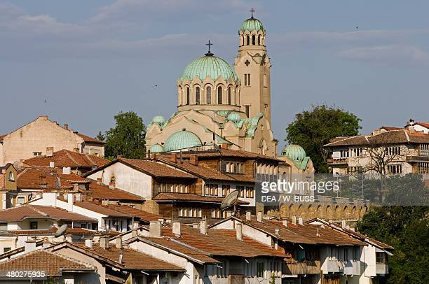Cathedral of the Birth of the Theotokos designed by Kolio Ficeto completed in 1844 and rebuilt in 1913 old town of Veliko Tarnovo Bulgaria