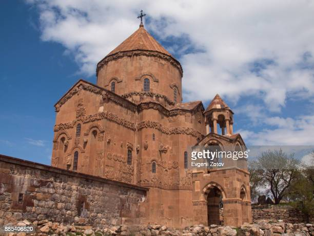 Cathedral of the Holy Cross on Akdamar Island in Lake Van, Eastern Turkey