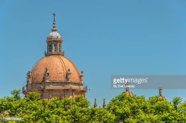 cathedral of the holy saviour - jerez de la frontera stock pictures, royalty-free photos & images