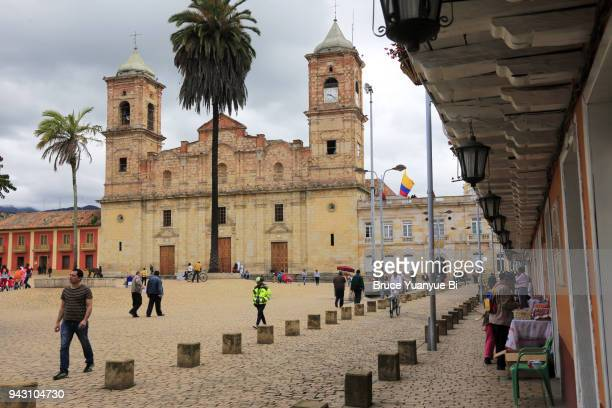 cathedral of the most holy trinity at zipaquira - cundinamarca stock pictures, royalty-free photos & images
