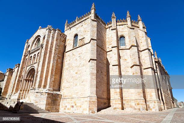 Cathedral of Zamora from behind