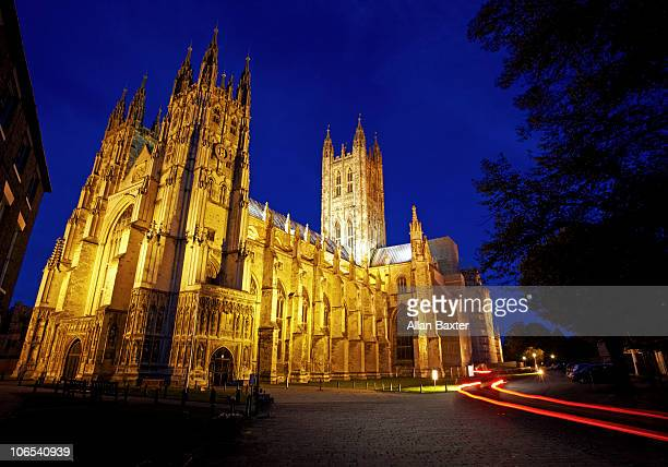 cathedral - kent county stock pictures, royalty-free photos & images