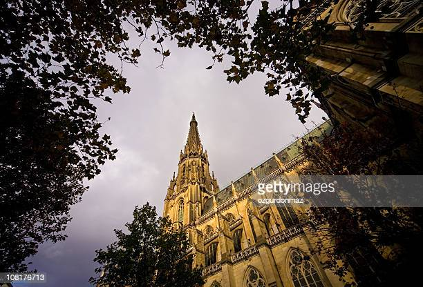 cathedral - linz stock pictures, royalty-free photos & images