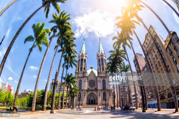 sé cathedral - cathedral stock pictures, royalty-free photos & images
