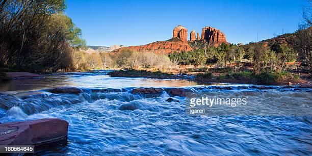 cathedral rock - red_rock,_nevada stock pictures, royalty-free photos & images