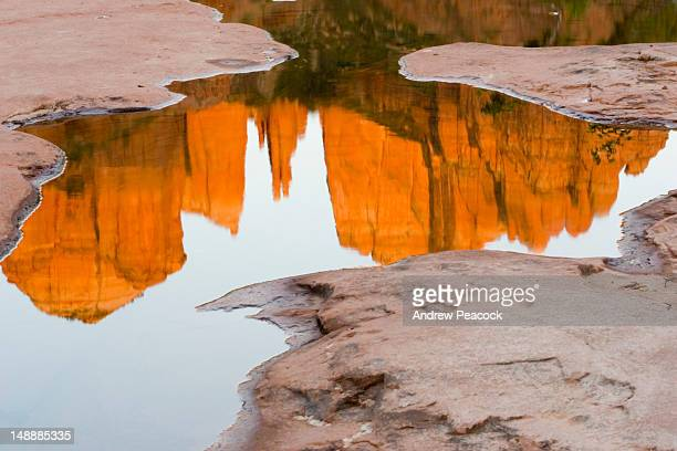 Cathedral Rock reflection.