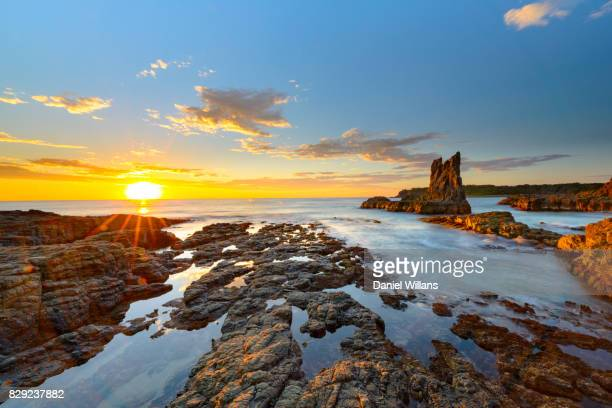 Cathedral Rocks Sunstar