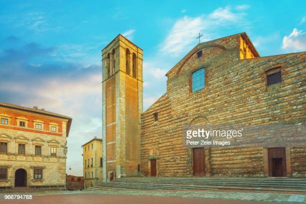 Cathedral Saint Mary Of The Assumption (Duomo di Montepulciano) Tuscany, Italy
