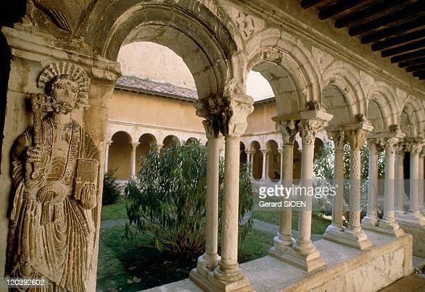 Cathedral Saint-Sauveur in Aix En Provence, France - Romanesque cloister