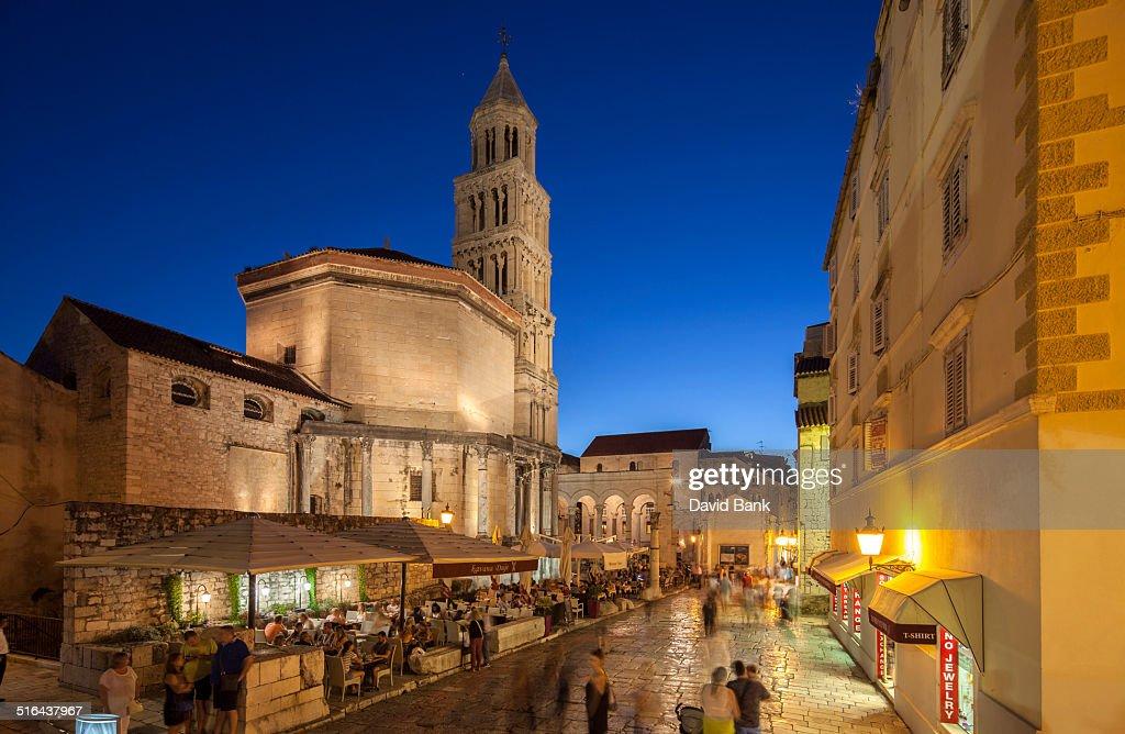 Cathedral Split : Stock Photo