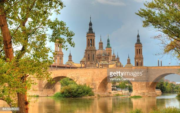Cathedral-Basilica of Our Lady of the Pillar in Zaragoza, Spain
