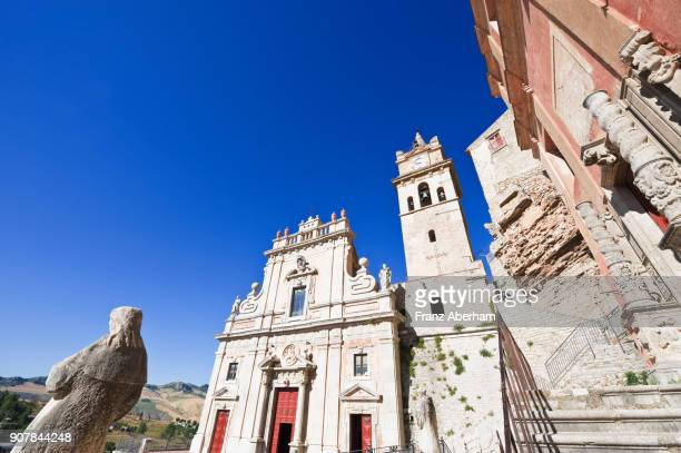 Cathedrale in Caccamo, Sicily, Italy