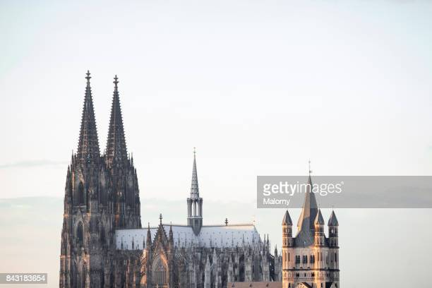 cathedrale of cologne - cologne, north rhine-westphalia, germany - cologne cathedral stock photos and pictures