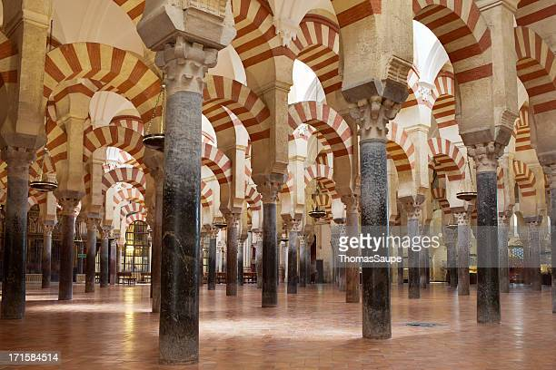 cathedral–mosque of cordoba - cordoba mosque stock pictures, royalty-free photos & images