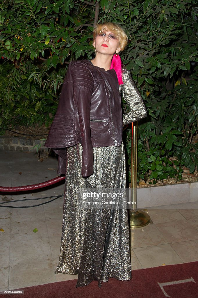 Catheine Baba attends the 'Mademoiselle C' Party at Pavillon Ledoyen, as part of the Paris Fashion Week Womenswear Spring/Summer 2014, in Paris.