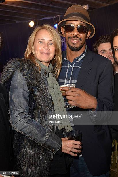 Catherine Ahnell and Lionel Phibel attend the FIAC 2014 International Contemporary Art Fair Private Cocktail At the Henri Louis Pernod Lounge in the...