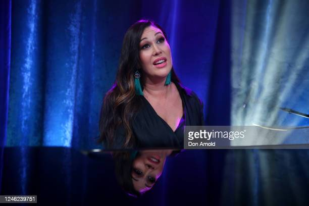 Catherine Alcorn performs post show on June 05 2020 in Sydney Australia The Reservoir Room is livestream performances of theatre live music cabaret...