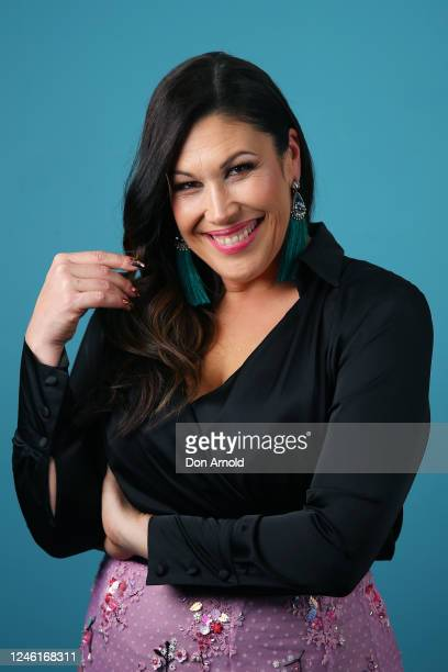 Catherine Alcorn poses post show on June 05 2020 in Sydney Australia The Reservoir Room is livestream performances of theatre live music cabaret and...