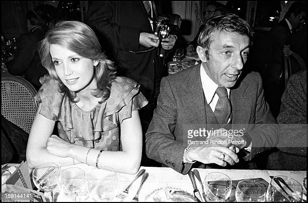Catherine Alric and Philippe De Broca attend a party