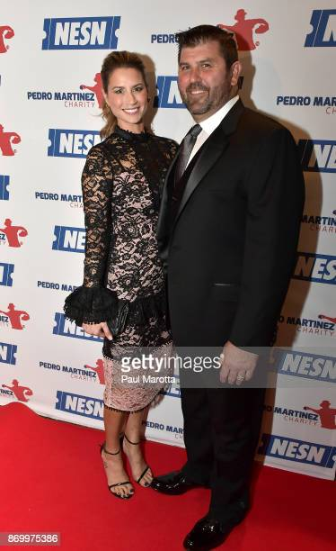 Catherine and Jason Varitek attend the 2nd Annual Pedro Martinez Charity Gala at The Colonnade Boston Hotel on November 3 2017 in Boston Massachusetts