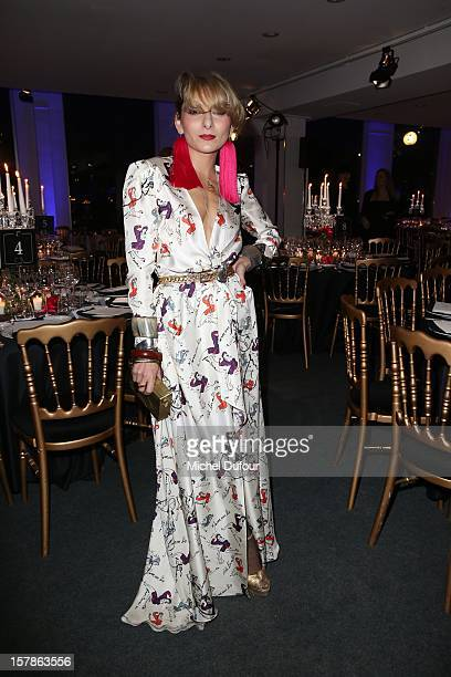 Catherine Baba attend sthe Babeth Djian Hosts Dinner For Rwanda To The Benefit Of AEM on December 6 2012 in Paris France