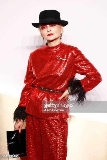 Catherine Baba attends the Clash De Cartier Launch Photocall At La Conciergerie In Paris on April 10 2019 in Paris France