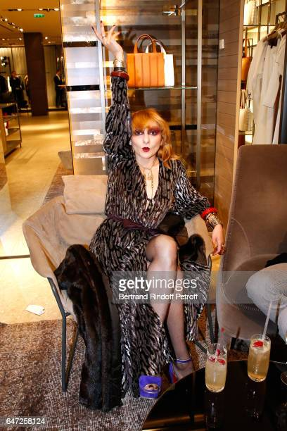 Catherine Baba attends the Max Mara 'Prism in Motion' Eventas with the presentation of the new collection Capsule of sunglasses Max Mara realized in...