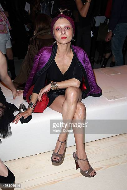 77d40692f Catherine Baba attends the Nina Ricci show as part of the Paris Fashion  Week Womenswear Spring