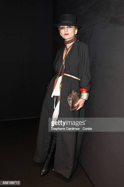 8f2d16431 Catherine Baba attends the Saint Laurent show as part of the Paris Fashion  Week Womenswear Spring