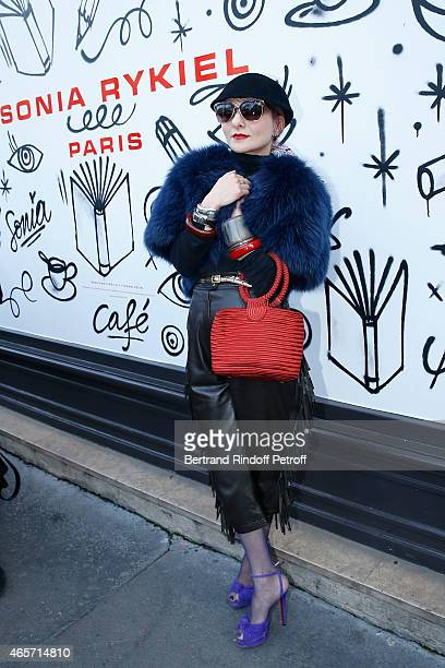 c894fa22c Catherine Baba attends the Sonia Rykiel show as part of the Paris Fashion  Week Womenswear Fall