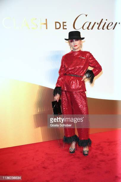 Catherine Baba during the Clash de Cartier event at la Conciergerie on April 10 2019 in Paris France