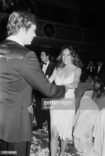 Catherine Bach dancing with John Shneider circa 1970 New York