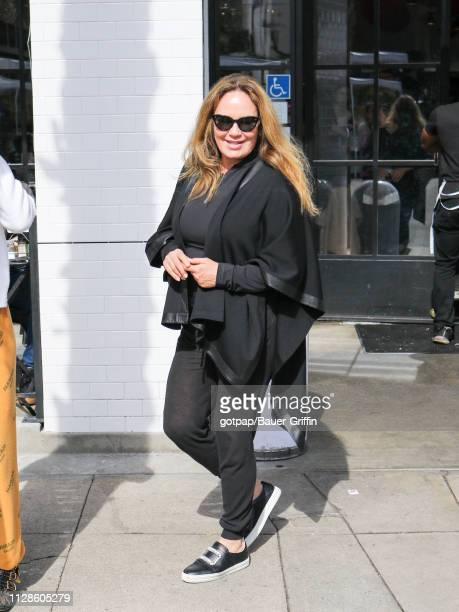 Catherine Bach is seen on March 03 2019 in Los Angeles California