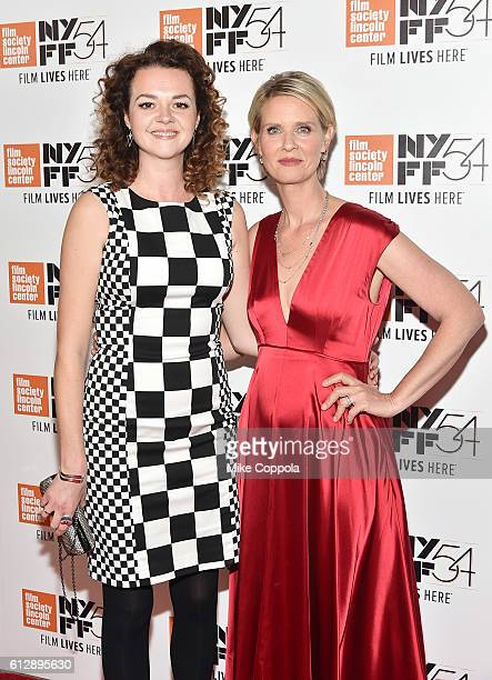 Catherine Bailey and Cynthia Nixon attend A Quiet Passion and Neruda premiere during the 54th New York Film Festival at Alice Tully Hall on October 5...