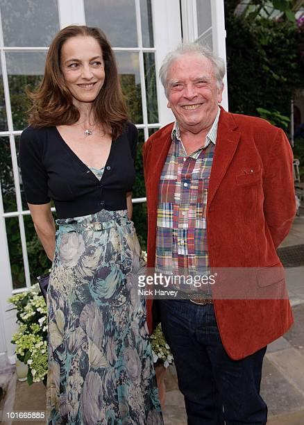 Catherine Bailey and David Bailey attend the annual Raisa Gorbachev Foundation Party at Stud House Hampton Court on June 5 2010 in London England