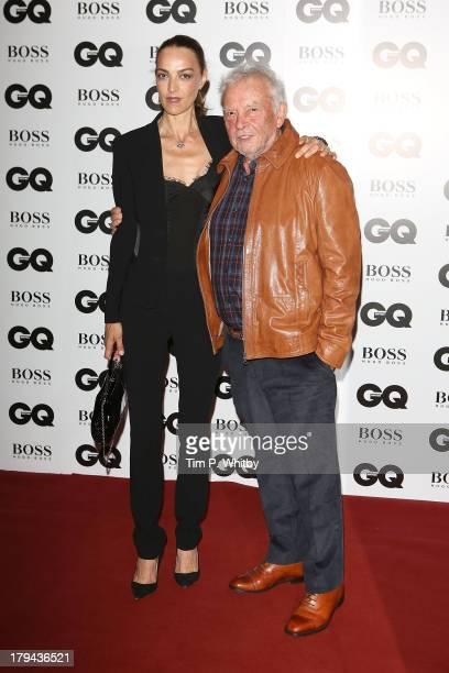Catherine Bailey and David Bailey attend the GQ Men of the Year awards at The Royal Opera House on September 3 2013 in London England